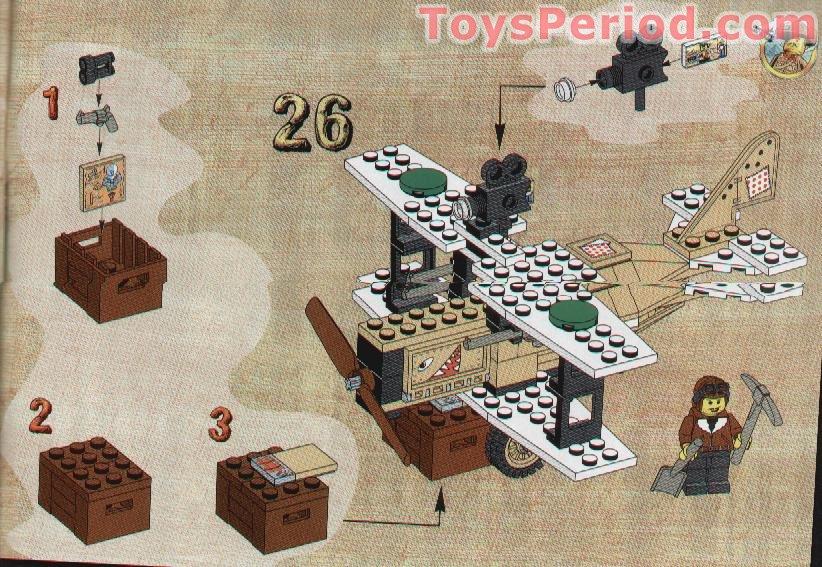 Set 608 5909 7824 10001 4558 6394. Buste personnage LEGO Minifig Torso 973p22