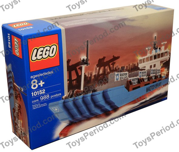 Maersk Line Container Ship Lego® Custom Sticker for Sculptures set 10152 2004