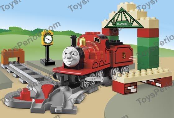 Lego 5552 James At Knapford Station Set Parts Inventory And