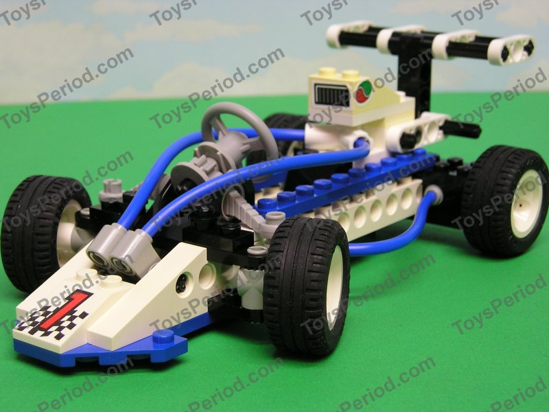 Technic Sets Lego Turbo Technic Race Car Complete Retired Set