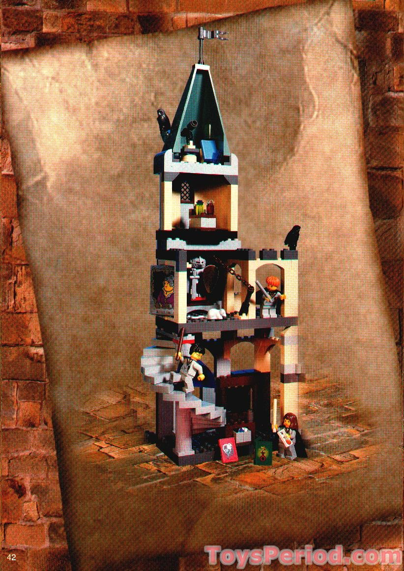 Lego 4709 Hogwarts Castle Set Parts Inventory And