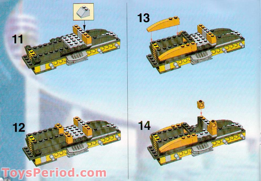 Ferrari Long Island >> LEGO 6739 Truck and Stunt Trikes Set Parts Inventory and Instructions - LEGO Reference Guide