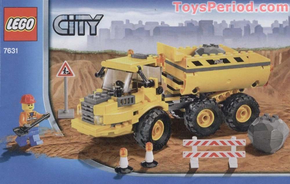 Lego City Construction Instructions