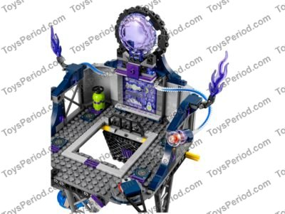 NEW LEGO Ultra Agent Helmet Space White Trans Blue x 1-70170 Headgear