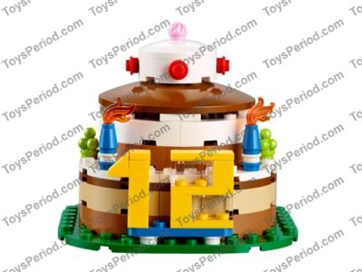 Lego 40153 Birthday Table Decoration Set Parts Inventory And