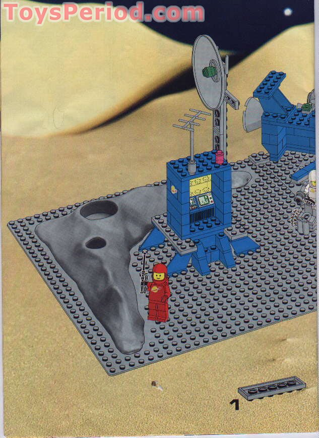 Lego 928 Galaxy Explorer Non Us Version Of 497 Set Parts