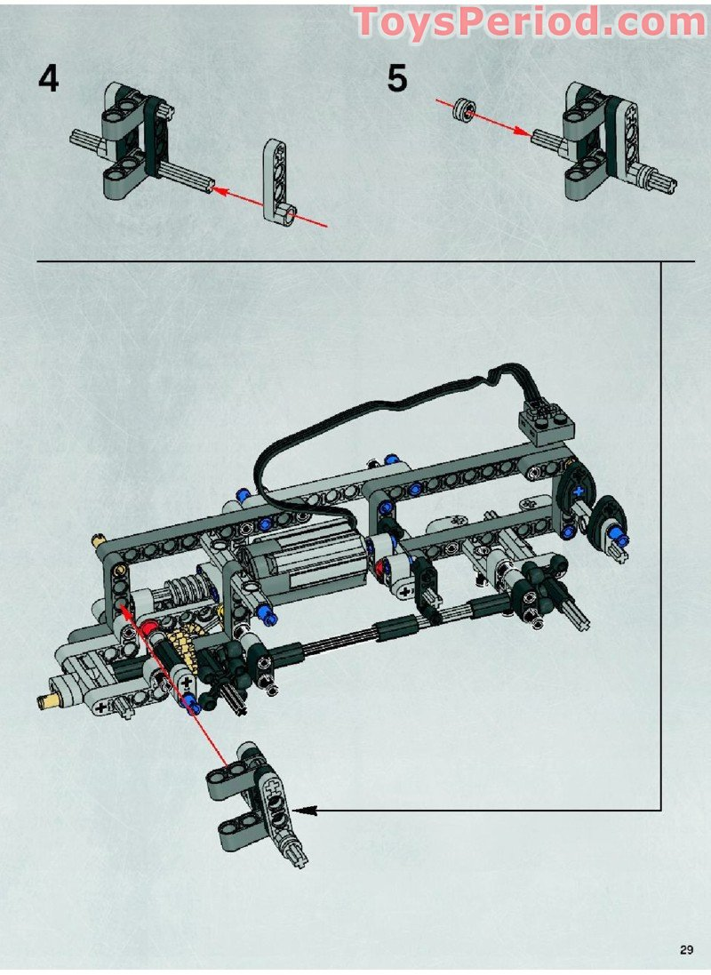 Lego 10178 Motorized Walking At At Set Parts Inventory And