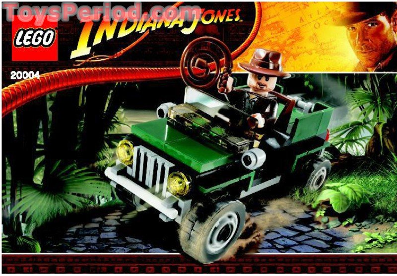 Lego 20004 Jungle Jeep Set Parts Inventory And