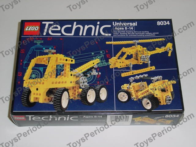 Lego 8034 Universal Building Set Set Parts Inventory And