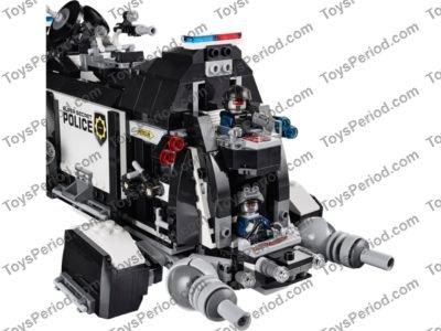 Brand New The Lego Movie 70815 Super Secret Police Dropship 6 Exclusive Minifigs