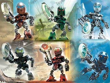 bionicle how to build matoran