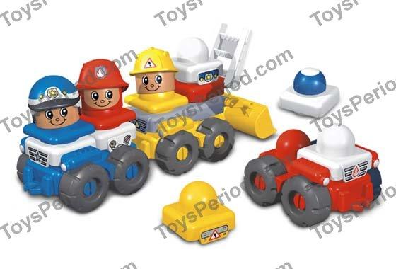 Lego 3700 Emergency Vehicles Set Set Parts Inventory And