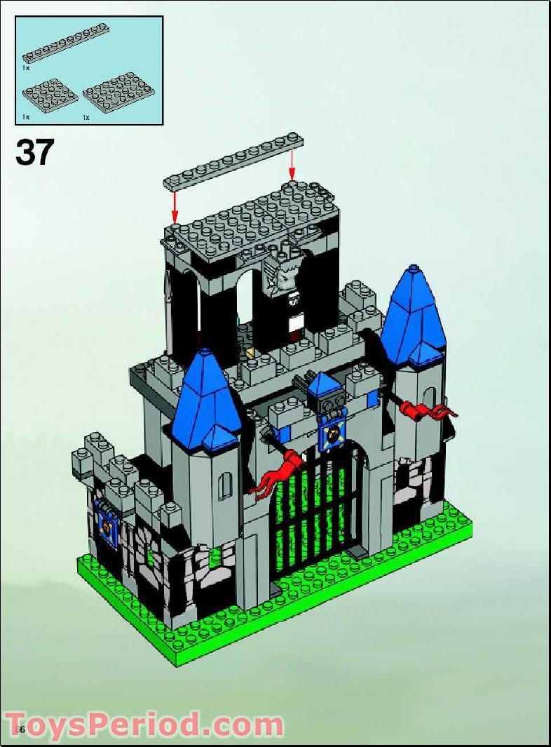 Lego king mathias instructions 8790 knights kingdom - Pin Lego Knights Kingdom Kings Siege Tower On Pinterest