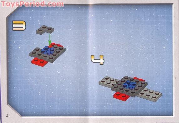 LEGO 4488 Mini Millennium Falcon Set Parts Inventory And ...