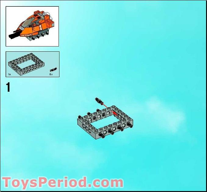 lego tank instructions free