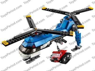 LEGO RETIRED TWIN SPIN LEGO SET # 31049 3 IN 1 FROM CREATOR SERIES NEW