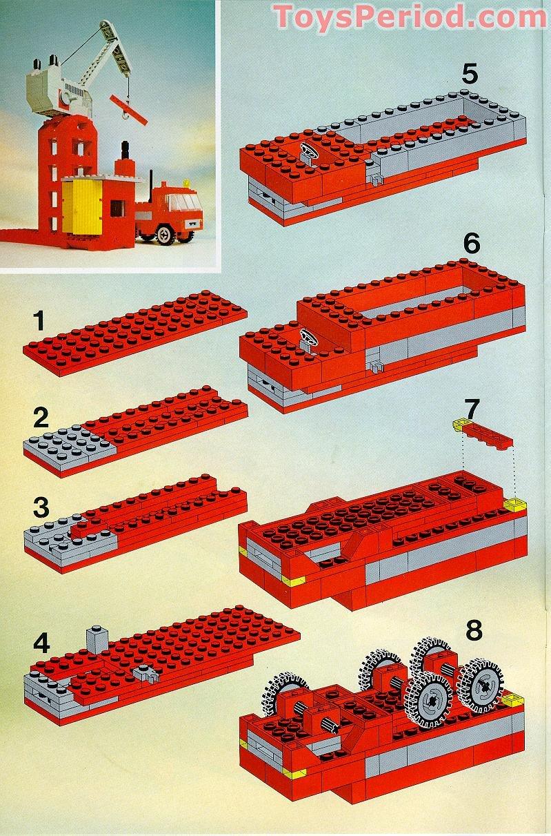 Lego Building Manuals