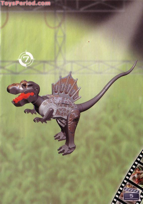 Lego 1371 Spinosaurus Attack Studio Set Parts Inventory