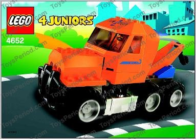 Lego Orange Tow Truck >> LEGO 4652 Tow Truck Set Parts Inventory and Instructions - LEGO Reference Guide
