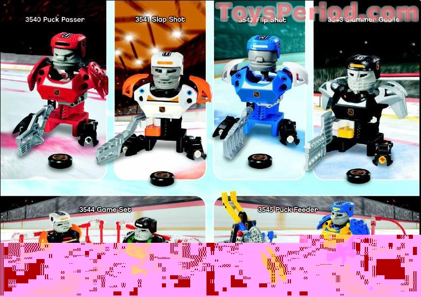 Lego 3544 Hockey Game Set Set Parts Inventory And
