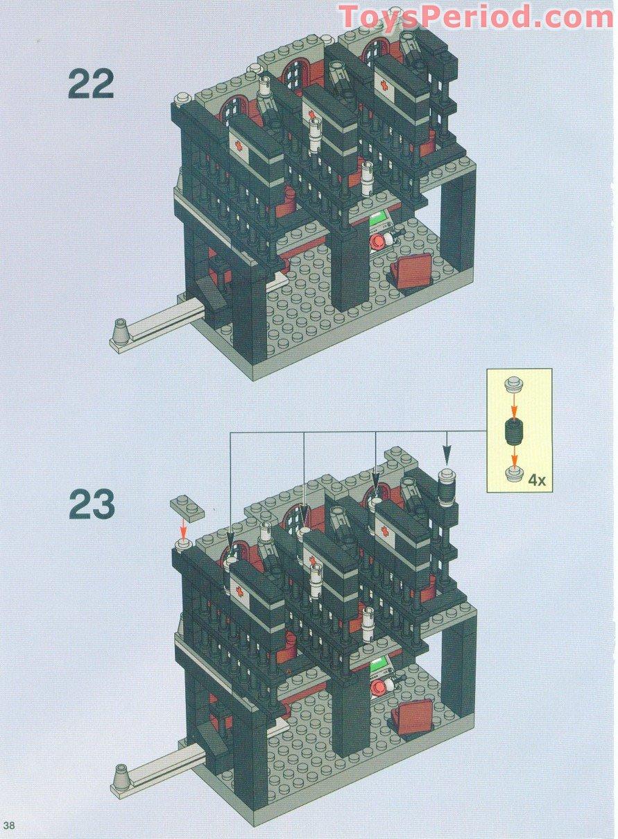 Lego 7785 Arkham Asylum Set Parts Inventory And
