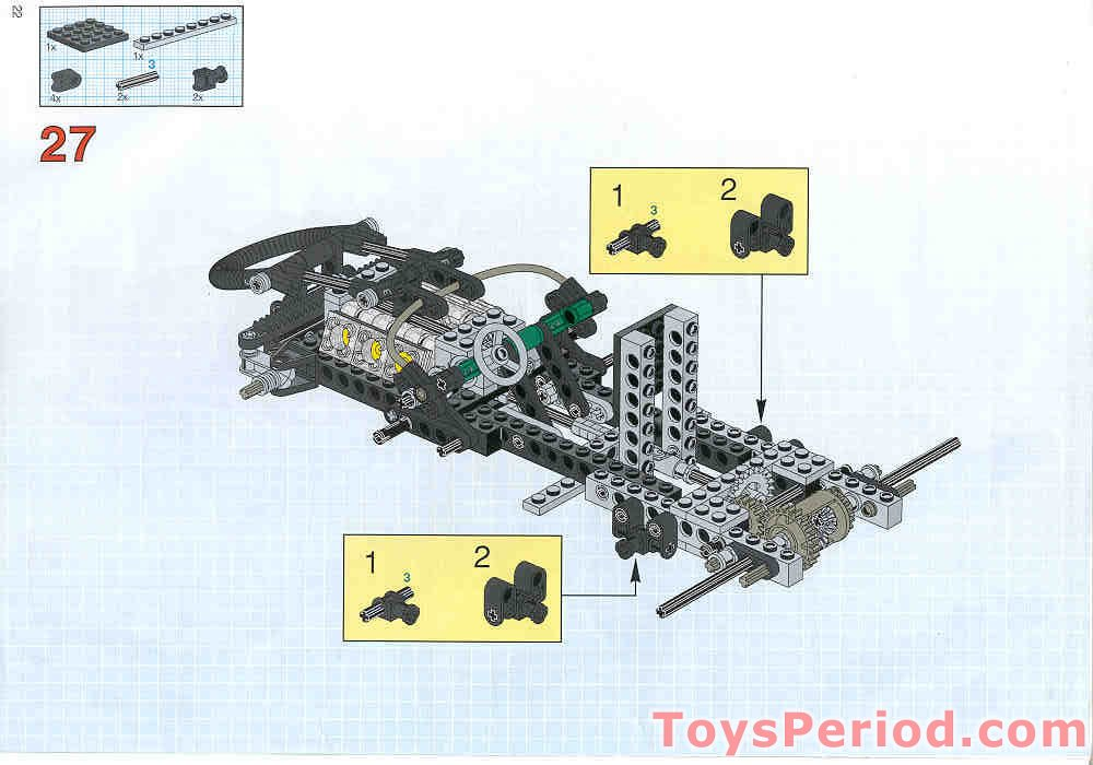 Lego 8428 Turbo Command Set Parts Inventory And Instructions Lego