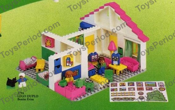 Lego 2794 Family House Set Parts Inventory And Instructions