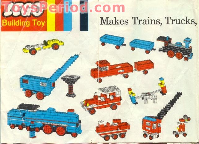 lego tube train instructions