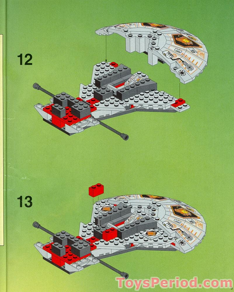 Vintage lego system: 6915 warp wing fighter new sealed 42884069155.