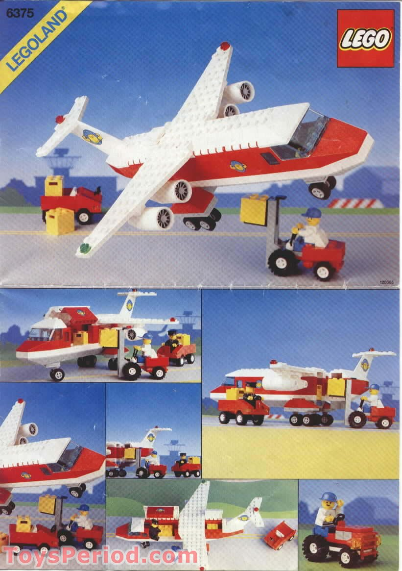 Lego 6375 1 Trans Air Carrier Set Parts Inventory And Instructions