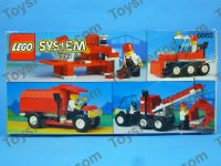 Precut Custom Replacement Stickers for Lego Set 6668 1992 Recycle Truck