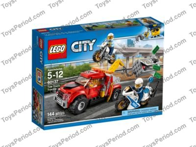 Lego 60137 Tow Truck Trouble Set Parts Inventory And Instructions