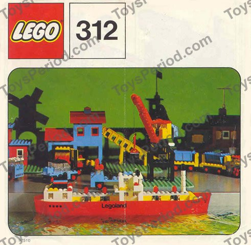 Lego 312 3 Tanker Set Parts Inventory And Instructions Lego