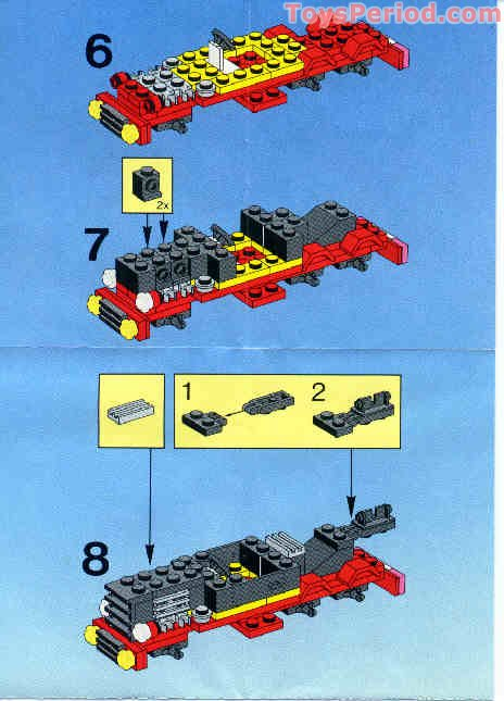 Lego 6669 Diesel Daredevil Set Parts Inventory And Instructions