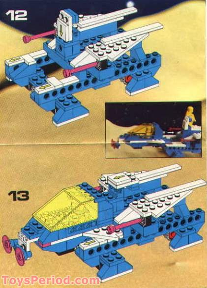 lego 6892 modular space transport set parts inventory and