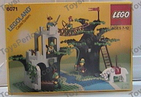 lego castle instructions 1990