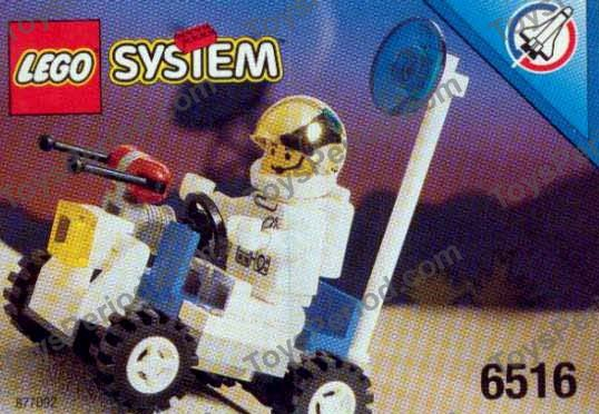 Lego 6516 Moon Walker Set Parts Inventory And Instructions Lego
