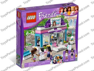 LEGO FRIENDS Beauty Shop 3187  Instruction Manual ONLY