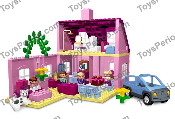 Lego 4966 Doll S House Set Parts Inventory And