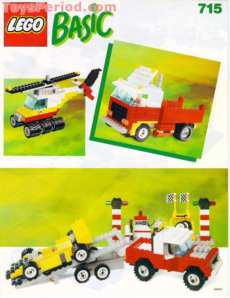 Basic Building Set 7 Plus Free Instruction Page 1