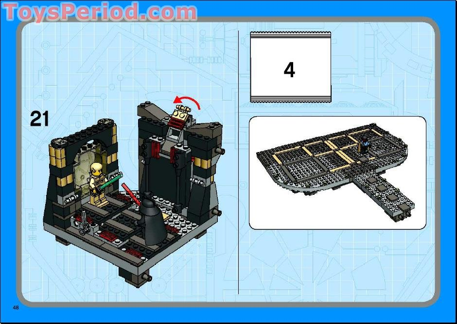 lego star wars cloud city instructions