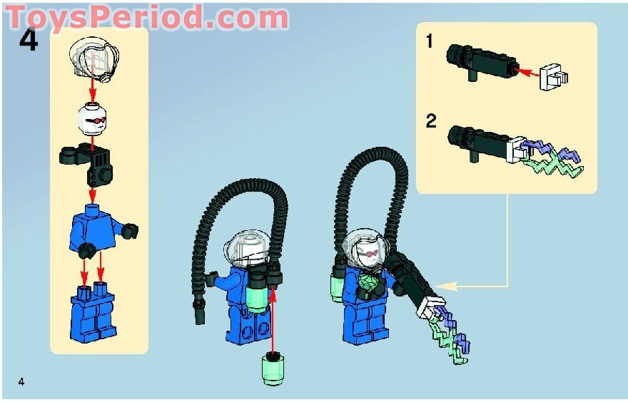 lego batman riddler chase instructions