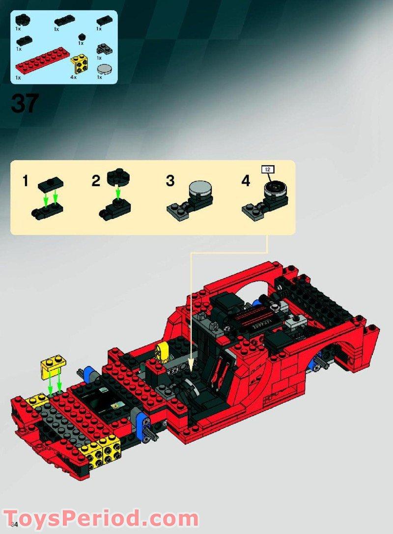lego ferrari fxx instructions