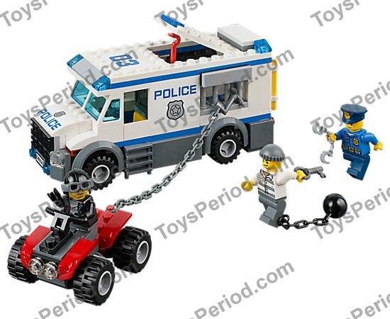 Lego 60043 Prisoner Transporter Set Parts Inventory And Instructions