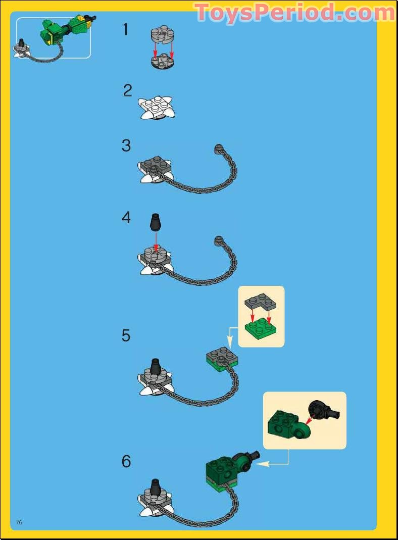 how to build a lego mythical creature