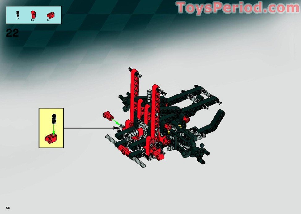 lego ferrari 599 gtb fiorano instructions