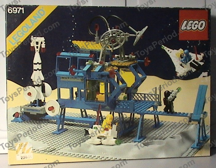 Lego 6971 Inter Galactic Command Base Set Parts Inventory And