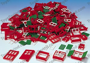 LEGO 9274 LEGO Doors and Windows & LEGO 9274 LEGO Doors and Windows Set Parts Inventory and ...