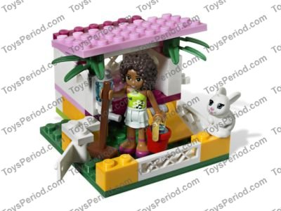 LEGO 3938 Andrea's Bunny House Set Parts Inventory and Instructions ...