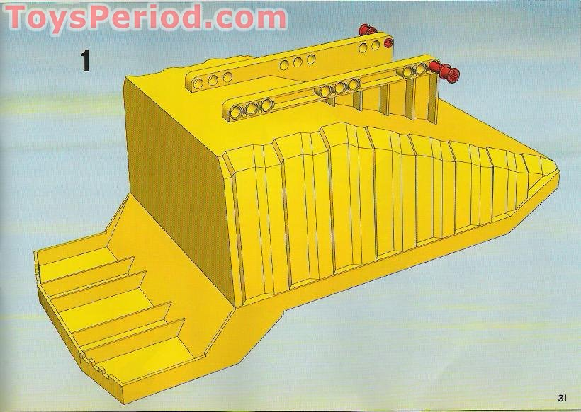 lego city dump truck instructions